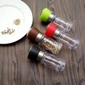 Manual Grips Glass Salt Pepper Grinder
