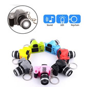 Mini LED Camera with Keychain and Sound