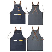 Multi-Use Shop Apron With Tool Pockets