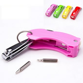 Multi tool Keychain with Nail File