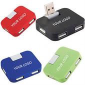 Multifunctional 4 ports Cube USB Hub