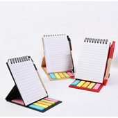 Notepads With Sticky Notes & Flags