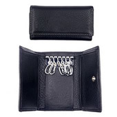 PU Leather Key Pouch