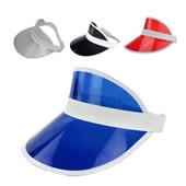 PVC Sun Visor Hat