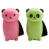Panda Shape Hand Pressure Rechargeable Flashlight