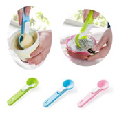 Plastic Ice Cream Scoop with Release Button