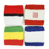 Plush Terry Cotton Sports Wristband