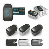 Portable Fingertip Oximeter/Pulse Rate Monitor