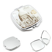 Rectangle Shape Cosmetic Pocket Mirror