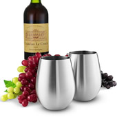 Seamless Stainless Steel Wine Tumbler