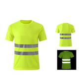 7 Size Hi Vis Cotton Comfort Short Sleeved T-Shirt