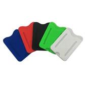 Silicone Finger Loop Phone Wallet