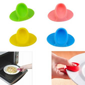 Silicone Heat Isolating Finger Clip