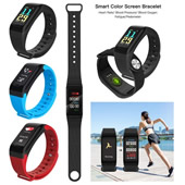 Smart Color Screen Fitness Tracker Bracelet/Health Monitor