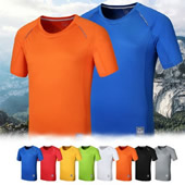 Sports T-Shirt Silver Technology