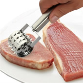 Stainless Steel Roller Meat Tenderizer