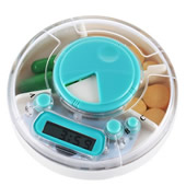 Travel Portable Electronic Smart Pill Box