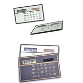 Ultra Thin Solar Power Pocket Calculator