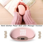 Universal 3600mah Hand Warmer Massager Power Bank