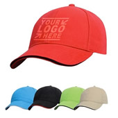 Washed Cotton Twill Baseball Cap