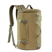 Waterproof Cylinder Tactical Canvas Bag