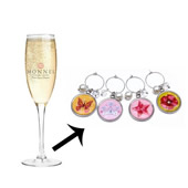 Wine Glass Charm Ring