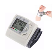 Wrist Blood Pressure Monitor & Heart Health Indicator